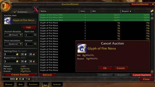 auctioneer для wow bfa